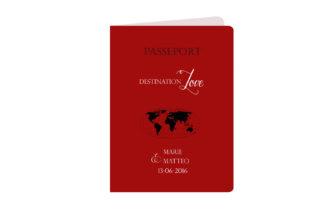 Faire Part Passeport