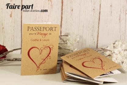 Faire-part passeport